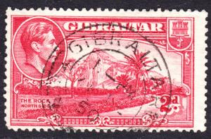 Gibraltar Scott 110B  Fine used with a splendid SON cds.