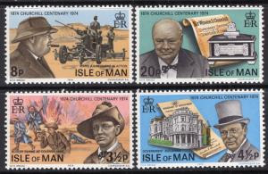 Isle of Man 48-51 MNH VF