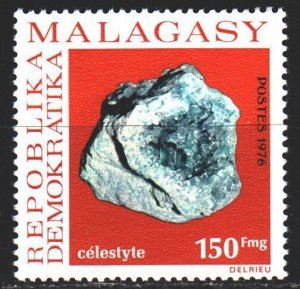 Madagascar. 1976. 793 from the series. Minerals, geology. MNH.