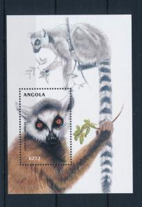 [31187] Angola 2000 Wild animals Mammals Lemur MNH Sheet