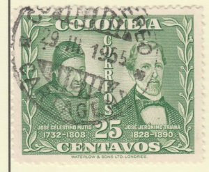 Colombia 1947 25c Fine Used A8P55F111