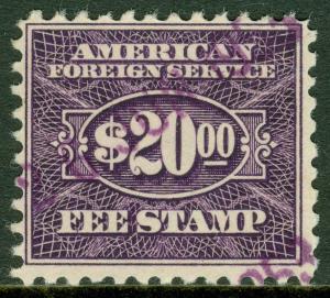 EDW1949SELL : USA 1952 Scott #RK40 Very Fine. Catalog $210.00.