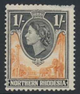 Northern Rhodesia  SG 70 SC# 70 MLH  spacefiller  see detail and scans