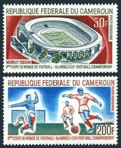 Cameroun C77-C78,MNH.Michel 479-480. World Soccer Cup,England,1966.