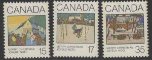 CANADA SG993/5 1980 CHRISTMAS MNH