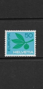 SWITZERLAND - EUROPA 1965 - SCOTT 469 - MNH