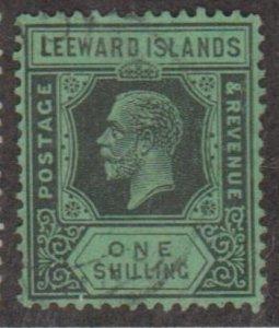 Leeward Islands Scott #76 Stamp - Used Single