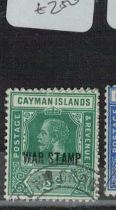 Cayman Islands SG 57 VFU (8eei)