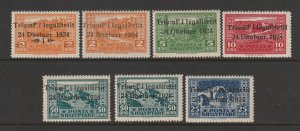 Albania a small MNH lot from 1925