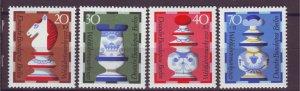 J24941 JLstamps 1972 germany berlin set mnh #9nb92-5 chess