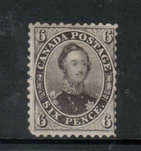 Canada #13 Mint Fine Part Original Gum Hinged **With Certificate**