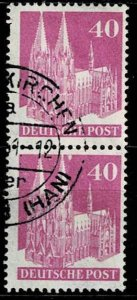 Germany 1948,Sc.#651a used, perf 14