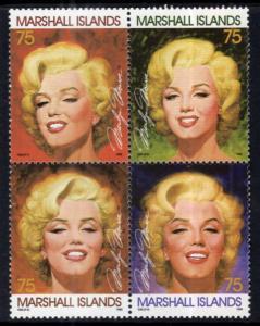 Marshall Islands 592 Marilyn Monroe MNH VF