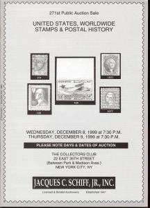 United States, Worldwide Stamps & Postal History, Schiff 271