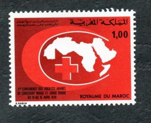 1978  - Morocco - Maroc -The 10th Conference of Arab Red Crescent and Red Cross