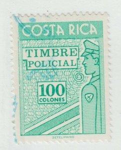 Costa Rica revenue Cinderella stamp 9-13-