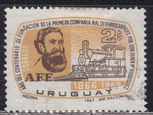 Uruguay 748 Senen M. Rodriguez 1967