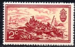 SWA - 1971 10th Anniversary of RSA 2cMNH** SG 232