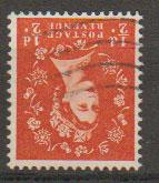 Great Britain SG 540wi  Used  watermark inverted