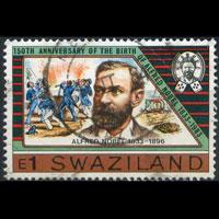 SWAZILAND 1983 - Scott# 439 Alfred Nobel 1e Used