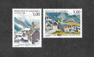 French Andorra 511-512 Mint NH MNH!