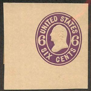 U65 Mint Full Corner Cut Square 42 x 43