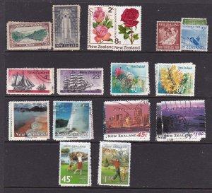 New Zealand x 8 used sets