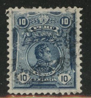 Peru  Scott 181 used stamp