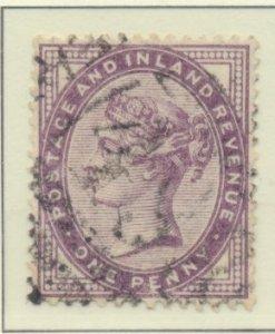 Great Britain Stamp Scott #89, Used - Free U.S. Shipping, Free Worldwide Ship...