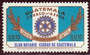 Guatemala #C567 Guatemala City 50th Anniv. Of the Rotory Club, 1975. MNH