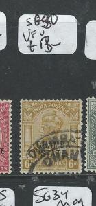 INDIA CHAMBA (PP0804B) KGV 6A  SG 50   VFU