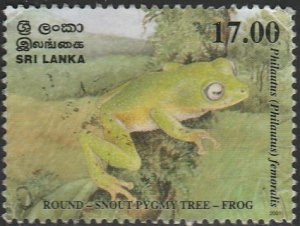 Sri Lanka,#1366 Used, From 2001