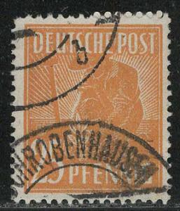 Germany AM Post Scott # 566, used