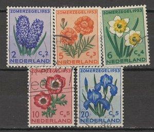 COLLECTION LOT # 5538 NETHERLANDS #B249-53 1953 CV+$14