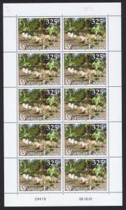Wallis and Futuna First King of Wallis Full Sheet of 10 stamps SG#793 SC#547