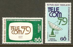Togo #1042,C402 NH Telecommunications