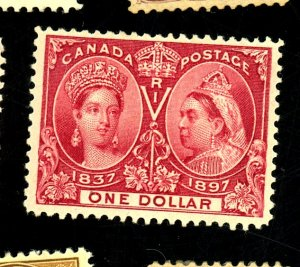 CANADA #61 MINT FVF OG HR Cat $1,000