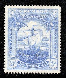 Grenada 1898 2½d Flagship of Columbus SG 56 Ship mint