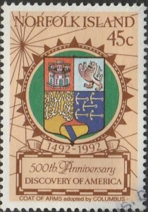 Norfolk Island, #517 Used,  From 1992