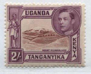 Kenya, Tanganyika, Uganda KGVI 1938 2/ perf 13  mint o.g. hinged