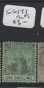 TRINIDAD  (P2005B)   1/-   SG 143   MOG