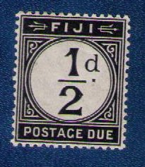 Fiji Sc D4 Postage Due MLH (1918) VF/XF