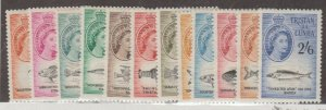 Tristan da Cunha Scott #28-39 Stamps - Mint NH Set