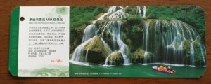 Mountain waterfall,rver rafting,CN11 xiangxi tourism annual admission ticket PSC