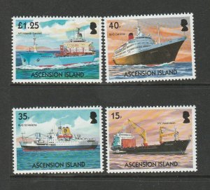 Ascension 2004 Merchant Ships UM/MNH SG 910/3