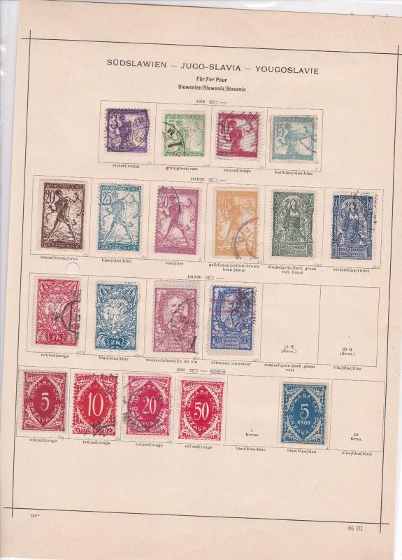 slovakia 1919 stamps page ref 17526