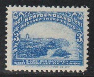 Newfoundland  SC 63 Mint Never Hinged
