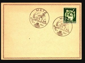 Germany 1941 Briefmark Series Card / Metz CDS - Z16756