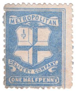(I.B) Cinderella Collection : Circular Delivery Company (Metropolitan ½d)