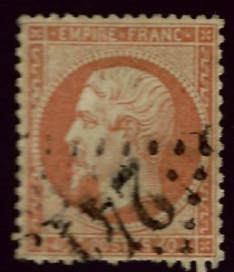 France SC#35 Used F-VF hr...Worth a Close look!!